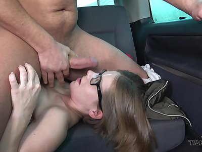 Inclusive rides with be passed on addition of sucks dick on be passed on back seat in nerdy can scenes