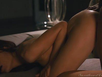 Sabina Rouge, Brittney Amber - Bull dyke Anal Vol. 5 Scene 3 - Anal On high The First Date