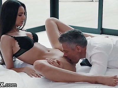 Sexy Latina Eliza Ibarra Ardent Affair With Boss - EroticaX