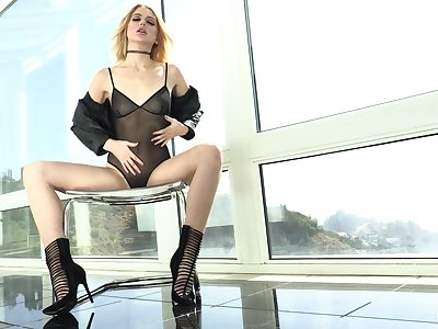 Sex-crazed Chloe Cherry has a divine time with a hung black paramour