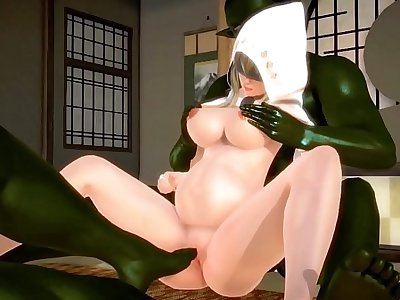 Frond Start with 3D HENTAI 64