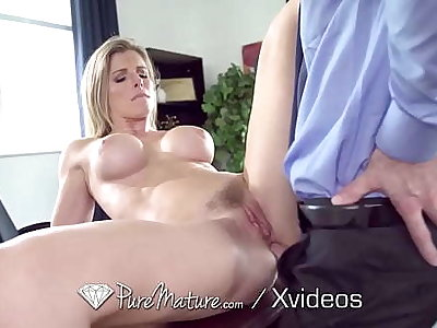 PUREMATURE Full-grown Manager Gives Up Anal To Interviewer