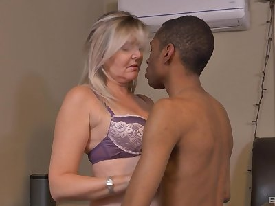 Velvet Skye's mature small tits will fly across the room