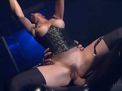 Busty whore loves the merciless dick hitting her so hard