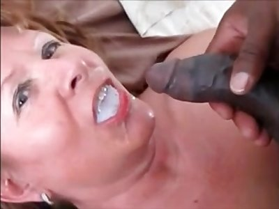 Grandma fucked doggystyle by bbc red-eye his cum